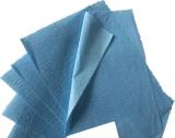 61GSM de blauwe Niet-geweven Stof Spunlaced combineert PE Film (drapeer)
