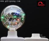Bulbo colorido especial blanco del material G125 del alambre de cobre de los bulbos de la estrella del LED