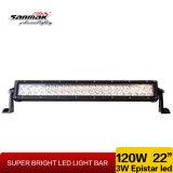 Barre chiare doppie di riga LED di alto potere di IP67 120W