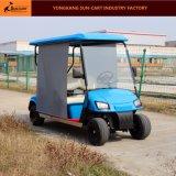 Carro de golfe elétrico de 4 Seater com máscara de Sun