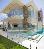 Inferriata di vetro di Frameless della piscina esterna con lo zipolo