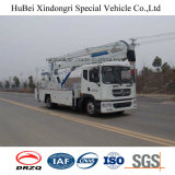22m Dongfeng Euro5の市管理のための空気のバケツのトラック