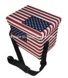 La bandiera americana Gsa8025 scherza la casella pieghevole del dispositivo di raffreddamento della sede di memoria di serie
