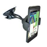 Support réglable 2516 de téléphone de stand de support de pare-brise d'aspiration de rotation de 360 degrés