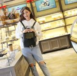 方法Travel Shopping Weekender Backpackの革女性の女性のショルダー・バッグ