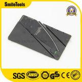 Нож карманн кредитной карточки лезвия нержавеющей стали выдвиженческий ся складывая