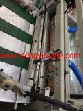 Sacos tecidos que cortam & máquina de costura
