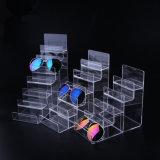 Support d'étalage de rangée de l'acrylique 6 d'espace libre d'étalage de monocle