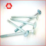 고품질 둥근 맨 위 정연한 목 놀이쇠 DIN603 탄소 강철 포가 놀이쇠