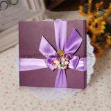 Rectángulo de regalo cuadrado fino de la impresión en color para el embalaje del chocolate