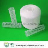Filato filato poliestere di plastica del tubo di Ne20s Ne60s