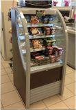 Réfrigérateur de réfrigérateur d'air ouvert de Supermarkst avec le compresseur d'Embraco