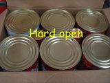 Alta Calidad Sin aditivo orgánico pasta de tomate con Tamaño De 70g a 4500g