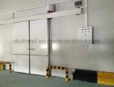 Edificio prefabricado aislado de la hoja del panel de emparedado de la PU para la conservación en cámara frigorífica
