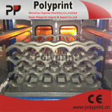 Vollautomatische PlastikThermoforming Maschine mit Ablagefach