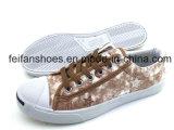 方法人の洗浄ジーンのズック靴の偶然靴(FFCS112106)