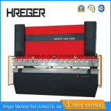 Wc67y-30X1300 유압 강철 플레이트 벤더 기계