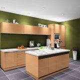Высокий шкаф лака лоска для кухни