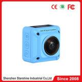 二重レンズが付いているWiFi 4k 360d Panoviewの処置のカメラ