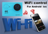 Le sport de WiFi de l'appareil-photo ultra FHD 4k d'action vont PRO appareil-photo imperméable à l'eau Deportiva