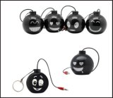 폭탄 모양 소형 휴대용 증폭기 스피커