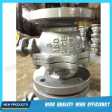 API 300lb Gas CS Casting Trunnion Ball Valve