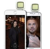 para a luz quente do flash da câmera do diodo emissor de luz do Ios e da venda 3.5mm Jack Selfie 16 de Andriod
