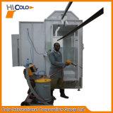 Guidare-Attraverso la cabina di spruzzo del rivestimento della polvere che carica nel Kenia