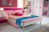 2017 plaatst de Modieuze Slaapkamer het Houten Roze Bed van Jonge geitjes