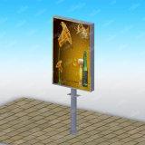 Struttura Frim che fa pubblicità al tabellone per le affissioni Backlit LED sulle strade
