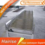 Hairiseの頑丈で小さい自動化されたカーブのローラーのコンベヤ・システム