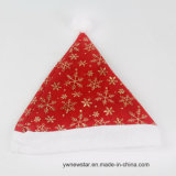 Natale Red Hat di modo con il fiocco di neve di Glod