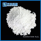 Van het van de bedrijfs zeldzame aarde het Witte Poeder Scandium Oxyde