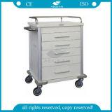 AG Mt028 ISO 판매를 위한 세륨에 의하여 자격이 되는 장비 병원 트롤리 손수레