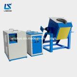 Horno fusorio de inclinación de frecuencia media de la inducción de cobre amarillo 50kg de IGBT