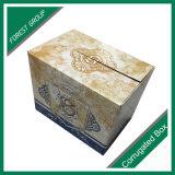 卸し売り簡単で明白で小さく大きいボール紙の紙の箱ボックス