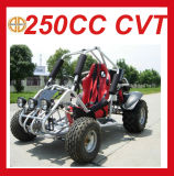 고품질 250cc 단일 좌석 바닷가 2 륜 마차