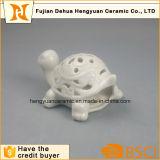 Черепаха фарфора Whithe с полой конструкцией