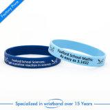 Wristband personalizzato del silicone stampato matrice per serigrafia
