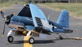 공장 출구 새로운 12CH 2.4GHz 소형 F4u RC 비행기