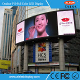 Muestras al aire libre a todo color a todo color de Advertisng HD P10 LED