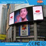 풀 컬러 Advertisng HD P10 풀 컬러 옥외 LED 표시
