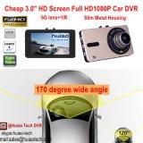 """Câmera cheia do traço da câmara de vídeo do carro de Hot&Cheap 3.0 """" HD1080p construída com a lente de 5.0mega CMOS, H264. Gravador de vídeo de Digitas, HDMI para fora DVR-3013 móvel"""