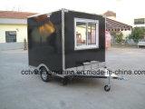 Carros móveis do fast food da rua mini com indicador da máscara (SHJ-MFS250)