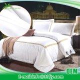 耐久の綿の大学のための白い寝具セット