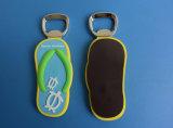 Новый 2D консервооткрыватель бутылки магнита холодильника сандалий пляжа PVC