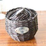(BC-WF1009) Cestino naturale Handmade puro del fiore del salice