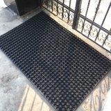 Natural / Reciclado Drenaje para servicio pesado / Agujeros de drenaje Anillo hueco de goma Entrada de bienvenida Puerta de pie Alfombrillas de piso