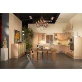 床および吊り戸棚が付いている経済的なメラミン食器棚