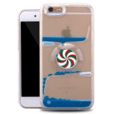 Cassa liquida di giro della rotella TPU per il iPhone 7